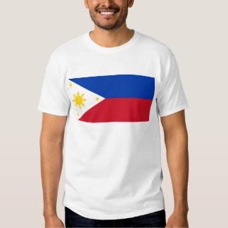 Philippine Flag, Philippine Islands National Flag Tee Shirt