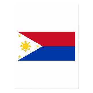 Philippine Flag | Philippine Islands | Pinoy Flag Postcard