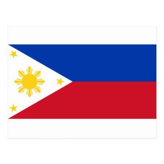 Philippine Flag Postcard