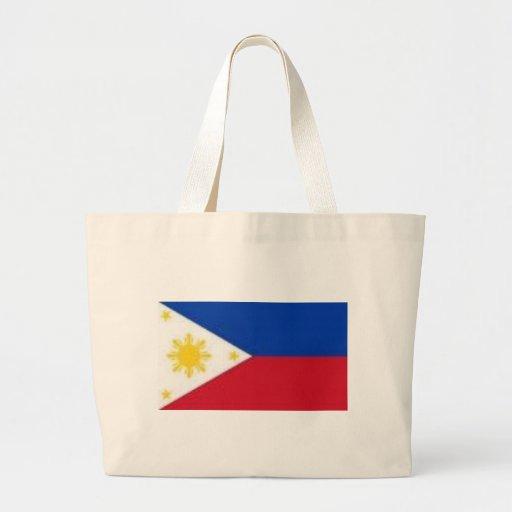 Philippine Flag Products Jumbo Tote Bag