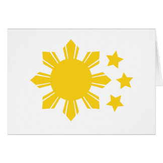 Philippine Flag - Proud to be Pinoy! Card