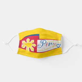 Philippine Flag Proud to be Pinoy Cloth Face Mask