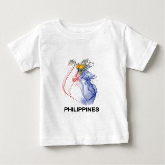 PHILIPPINE FLAG smoke T-shirt
