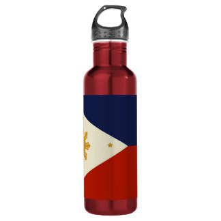 PHILIPPINE FLAG STAINLESS STEEL WATER BOTTLE