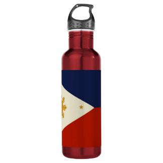 PHILIPPINE FLAG STAINLESS STEEL WATER BOTTLE