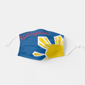 Philippine Flag Sun Independence Day Cloth Face Mask