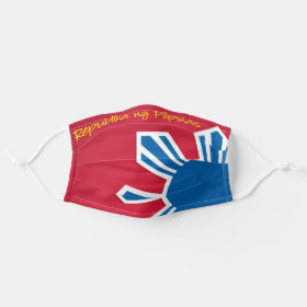 Philippine Flag Sun Patriotic Cloth Face Mask