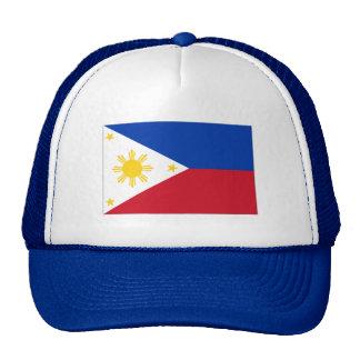 Philippine flag trucker hat