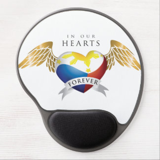 Philippine Heart w/Wings Mouse Gel Gel Mouse Pad