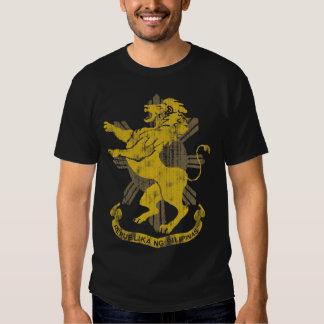 Philippine Lion Sun Flag Coat of Arms Vintage T Shirt