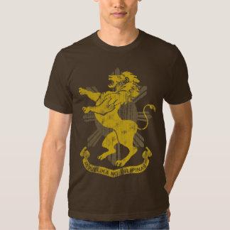 Philippine Lion Sun Flag Coat of Arms Vintage Tee Shirt