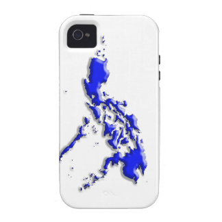 Philippine Map Case-Mate iPhone 4 Covers