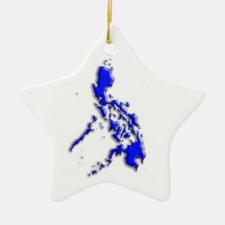 Philippine Map Ornament