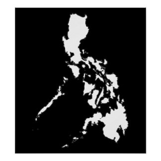 Philippine Map Poster