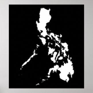 Philippine Map Print
