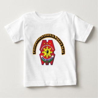 Philippine National Police Seal with Text Baby T-Shirt