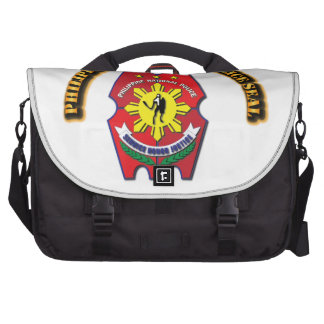 Philippine National Police Seal with Text Commuter Bag