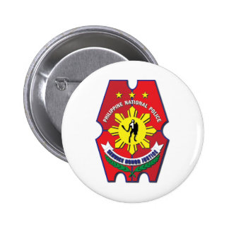 Philippine National Police Seal without Text 2 Inch Round Button