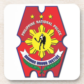 Philippine National Police Seal without Text Coaster