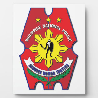 Philippine National Police Seal without Text Plaque