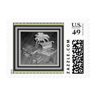 Philippine Old Design Postage Stamp
