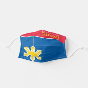 Philippine Pride Proud to be Pinoy Cloth Face Mask