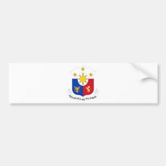 Philippine Seal Bumper Sticker