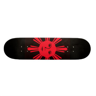 Philippine Sun of Liberty Skateboard