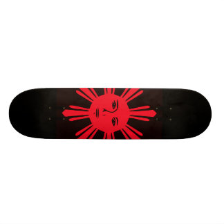 Philippine Sun of Liberty Skateboard Deck