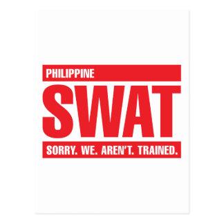 Philippine SWAT - Red Postcard