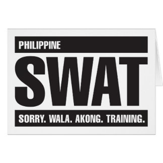 Philippine SWAT - Tagalog - Black Cards