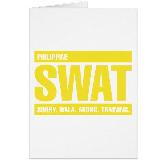 Philippine SWAT - Tagalog - Yellow Card