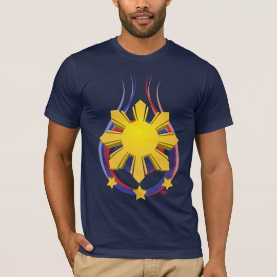 Philippine Symbol - Pinoy Emblem T-Shirt