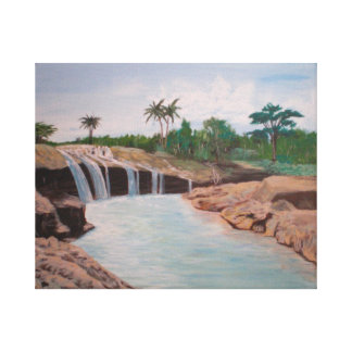 Philippine Waterfall Canvas Print