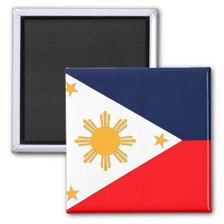 Philippines 2 Inch Square Magnet