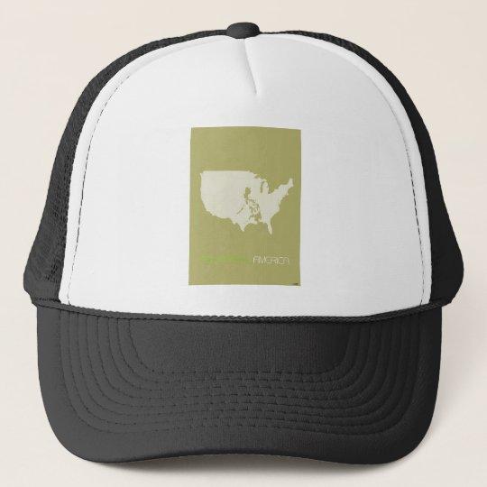 Philippines American Trucker Hat