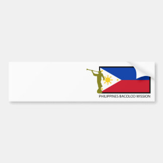 PHILIPPINES BACOLOD MISSION LDS CTR BUMPER STICKER