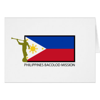 PHILIPPINES BACOLOD MISSION LDS CTR CARD