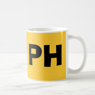PHILIPPINES* BOLD PH,  Colorful Mug