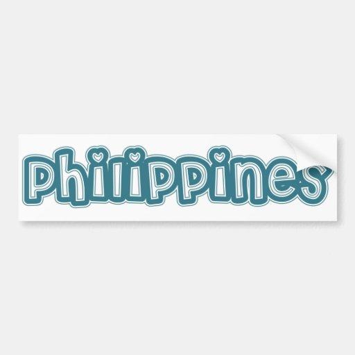 Philippines Bumper Stickers