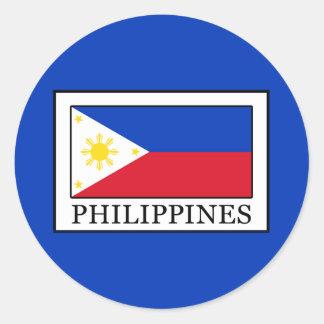 Philippines Classic Round Sticker