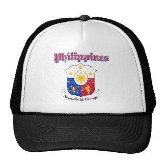 Philippines coat of arms designs trucker hat