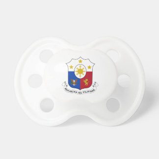Philippines Coat of Arms Baby Pacifiers
