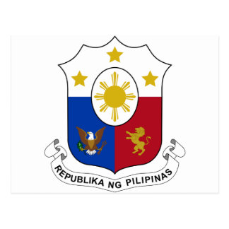 Philippines Coat of Arms Post Card