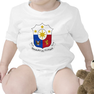 Philippines Coat of Arms Rompers