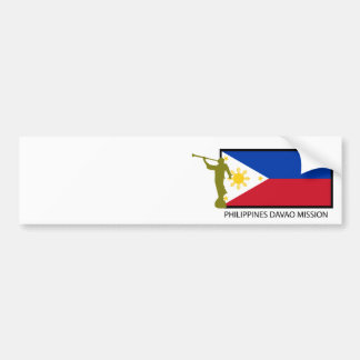 PHILIPPINES DAVAO MISSION LDS CTR BUMPER STICKER