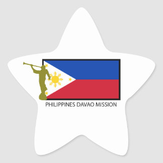 PHILIPPINES DAVAO MISSION LDS CTR STAR STICKER