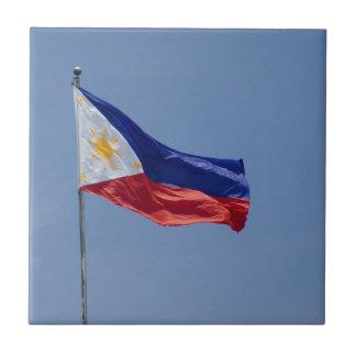 Philippines Flag (2) Ceramic Tile