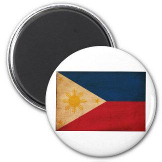 Philippines Flag 2 Inch Round Magnet