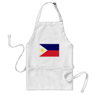 Philippines Flag Adult Apron